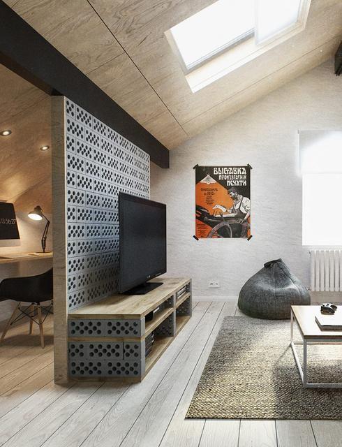 15 choses g niales faire soi m me en recyclant des parpaings de quoi vous donner de bonnes id es. Black Bedroom Furniture Sets. Home Design Ideas
