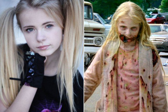 14 photos qui prouvent que les maquilleurs de « the walking dead