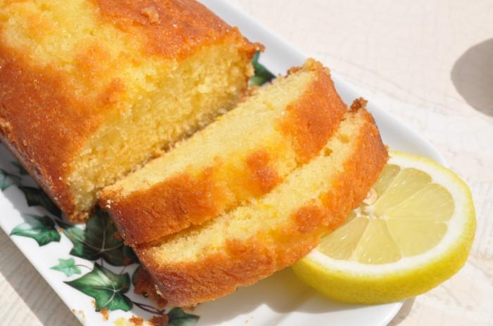 Cake Au Citron Moelleux Vegan