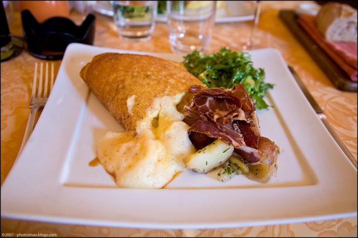 12 bons plats que l 39 on doit la normandie et on dit merci - Recette omelette mere poulard ...