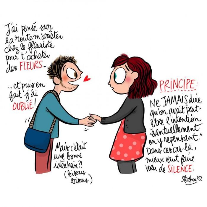 15 Dessins Sur La Vie De Couple Au Quotidien La 7 Est Universelle