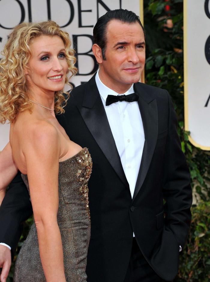 15 couples de c l brit s qui se sont rencontr s sur le for Jean dujardin couple 2014