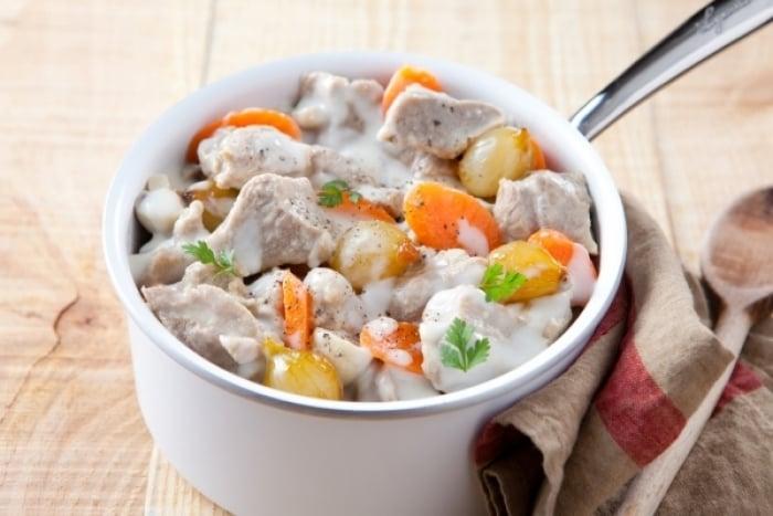 Recette du jour la blanquette de veau facile - Blanquette de veau recette facile ...