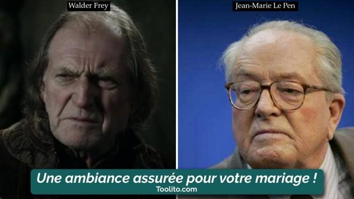 [Humour] - Nos politiques et Game of Thrones Walder-jean-marie-le-pen