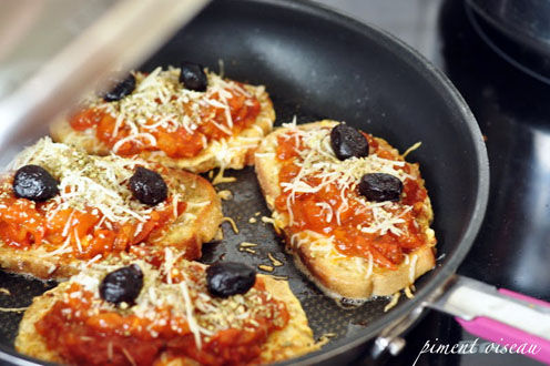 Le pain perdu fa on pizza - Recette chataigne a la poele ...