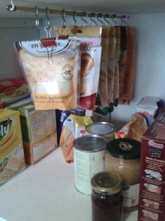 30 id es g niales de rangements pour toutes les pi ces de la maison la 10 e - Rangement cellier cuisine ...