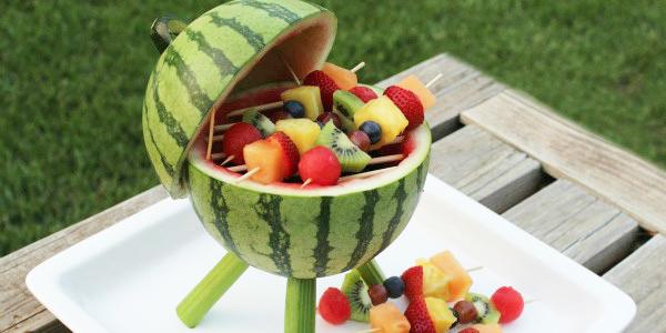R alisez un barbecue dans une past que incroyable mais vrai on vous explique comment le - Comment faire murir un melon ...
