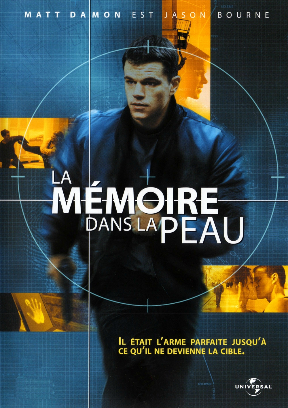 Les films de la saga Jason Bourne, de Doug Liman et Paul Greengrass, 2002,  2004, 2007, 2016