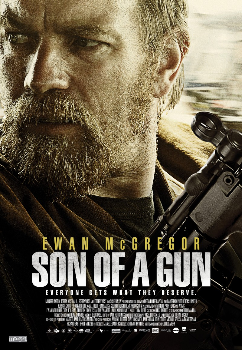 10. Son of a gun, de Julius Avery, 2014