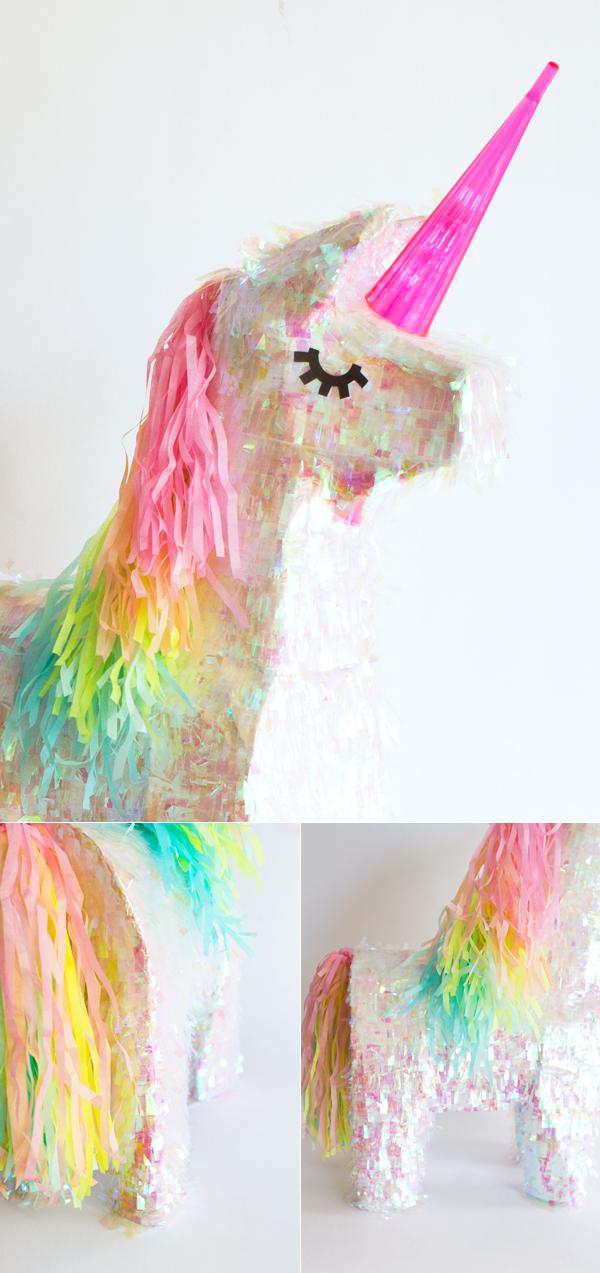 Populaire Fan de licornes ? De jeux de plein air ? Faites-vous une piñata  PU25