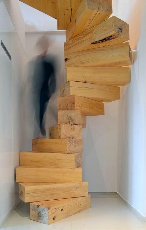 25 escaliers design à dévorer des yeux ! De quoi vous donner des ...
