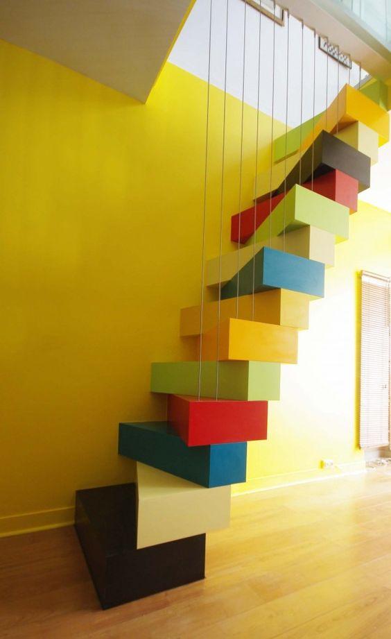 25 escaliers design d vorer des yeux de quoi vous donner des id es pour chez vous. Black Bedroom Furniture Sets. Home Design Ideas