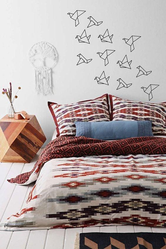 Idées Pour Redécorer Votre Appart Sans Faire De Lourds Travaux - Decoration murale pour pinterest chambre