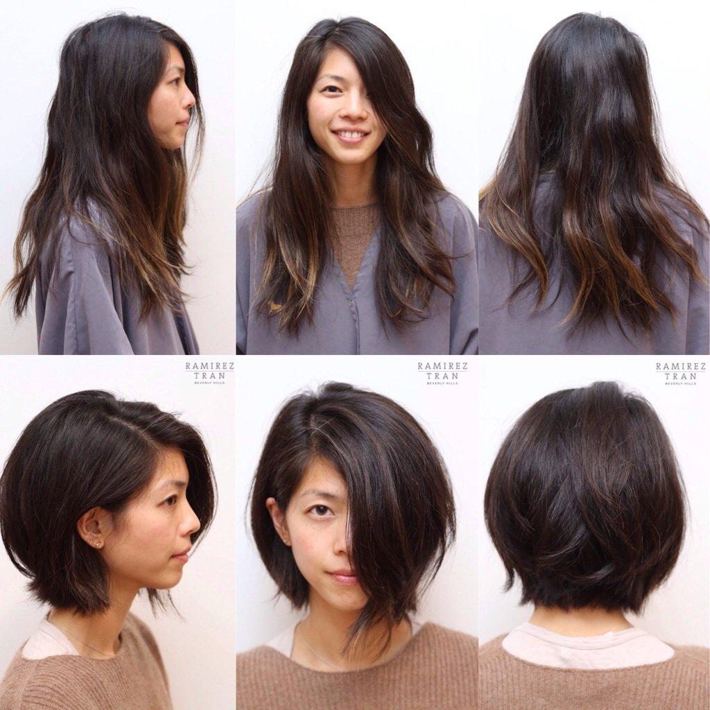 22 exemples de coiffures avant apr s pour changer de look tout en restant sexy. Black Bedroom Furniture Sets. Home Design Ideas