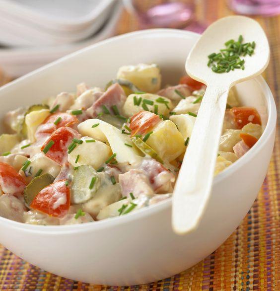 20 salades aux pommes de terre merveilleusement bonnes tester absolument cet t. Black Bedroom Furniture Sets. Home Design Ideas