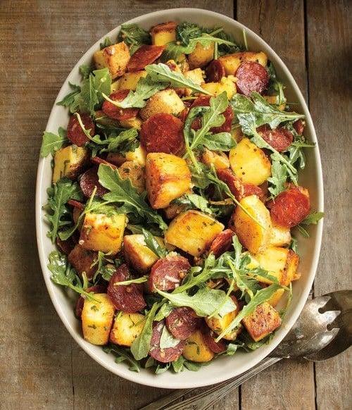 Idée Repas Froid Soir été.20 Salades Aux Pommes De Terre Merveilleusement Bonnes à