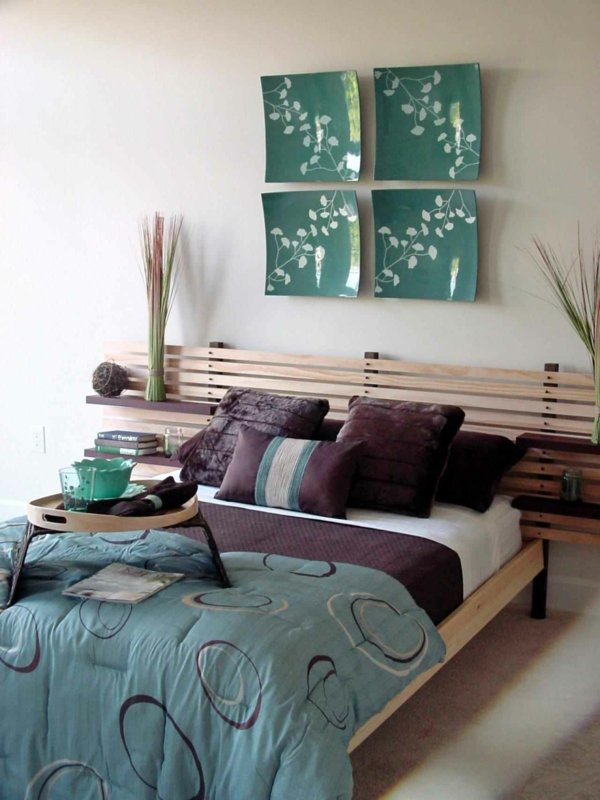 20 t tes de lit faire soi m me pour avoir une chambre. Black Bedroom Furniture Sets. Home Design Ideas