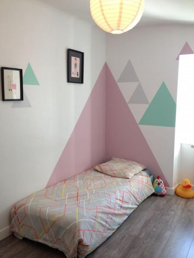 20 t tes de lit faire soi m me pour avoir une chambre - Couleur mur chambre bebe fille ...