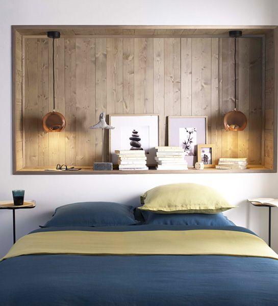 Mur Tete De Lit 20 têtes de lit à faire soi-même pour avoir une chambre pas comme