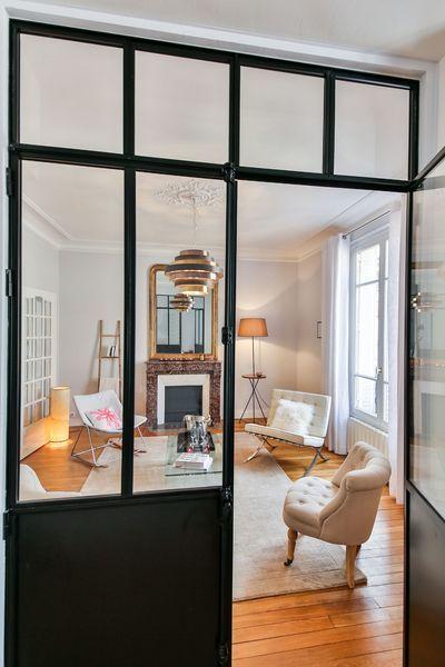 zoom sur les verri res d 39 int rieur tendance adopter pour cloisonner votre maison tout en l. Black Bedroom Furniture Sets. Home Design Ideas