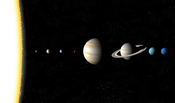 all planets lined up - photo #14
