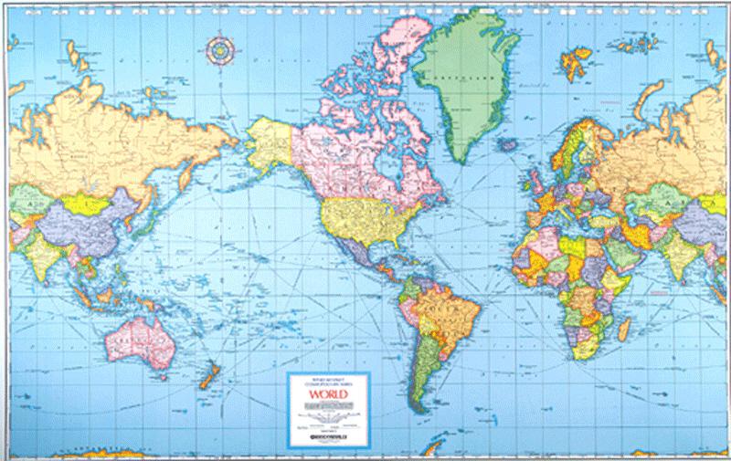 Voici La Vraie Taille De Ces Pays Lorsque Vous Allez Voir Ce Que