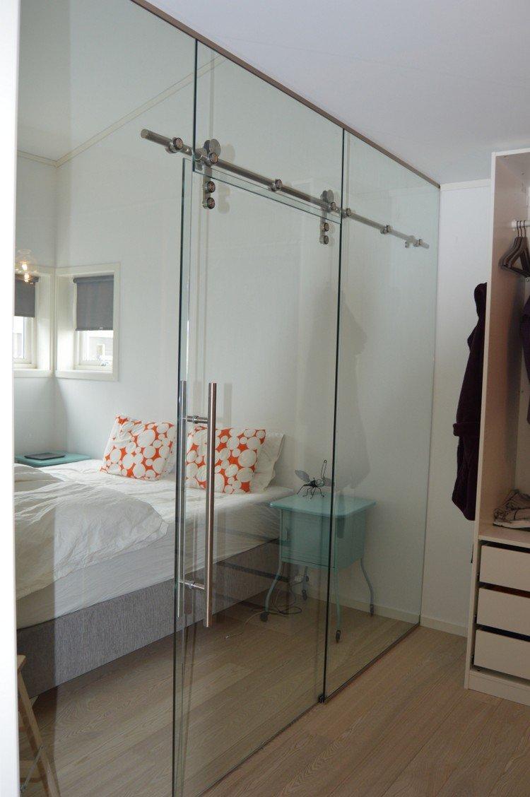 porte coulissante verre transparent. Black Bedroom Furniture Sets. Home Design Ideas