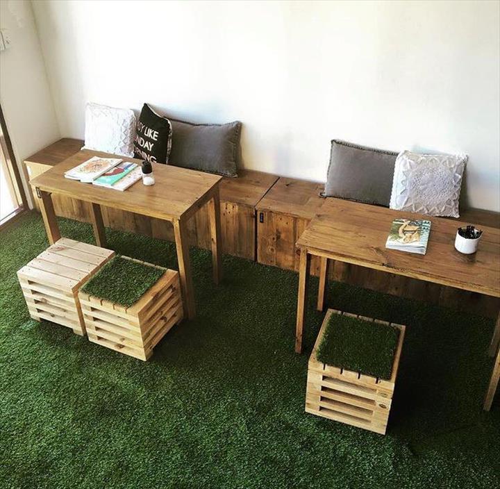 20 idées pour recycler vos palettes en bois ! La terrasse ...