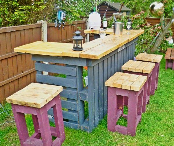 20 idées pour recycler vos palettes en bois ! La terrasse sur leau