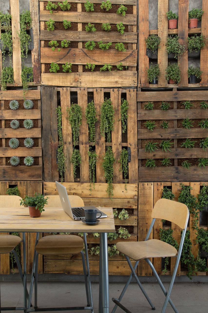Idee Deco Palette Jardin 20 idées pour recycler vos palettes en bois ! la terrasse