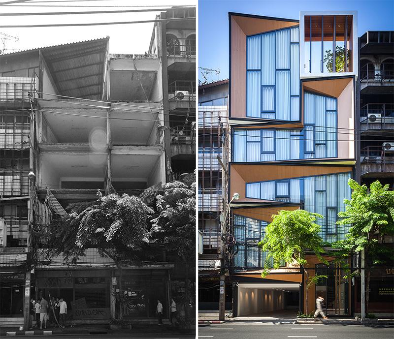 Avant / Après : La Rénovation D'un Ancien Bâtiment