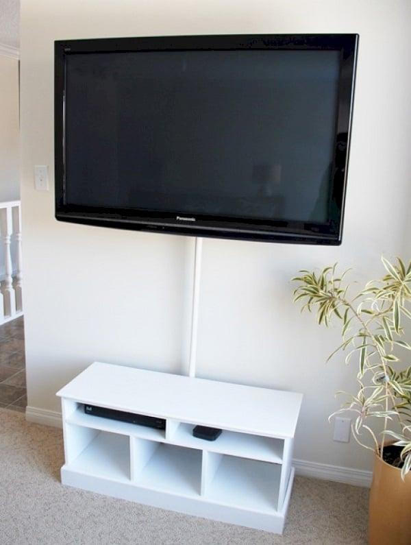 13 astuces pour dissimuler les c bles lectriques ou bien les int grer votre d co. Black Bedroom Furniture Sets. Home Design Ideas