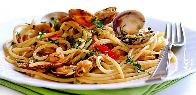 La recette du jour les spaghettis aux fruits de mer parfaite pour cet t - Spaghetti aux fruits de mer ...