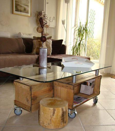 35 id es de recyclage des cageots en bois ils trouveront - Muebles hechos con materiales reciclados ...