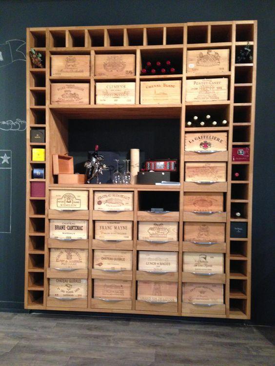 35 id es de recyclage des cageots en bois ils trouveront une place dans vot - Amenagement cellier cuisine ...