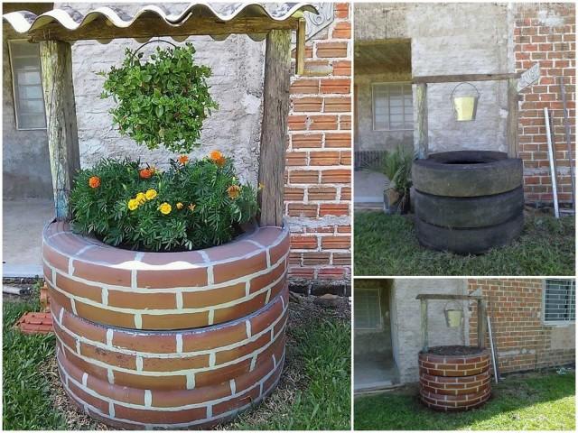 Un puits de fleurs \u003c3