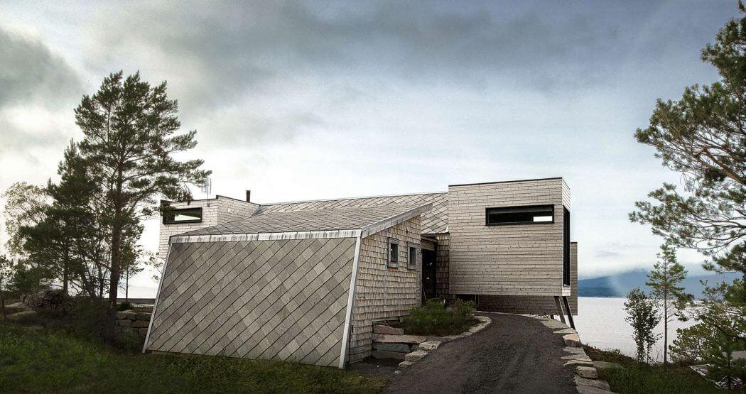 d couvrez l 39 int rieur de cette sublime maison norv gienne. Black Bedroom Furniture Sets. Home Design Ideas