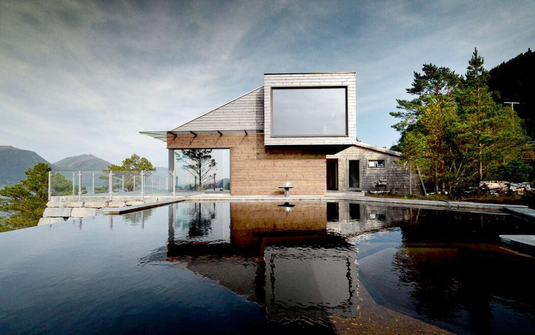 Découvrez lintérieur de cette sublime maison Norvégienne, avec vue sur un fjord  magique !