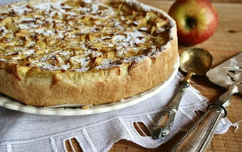 Le dessert du jour la tarte normande la seule l 39 unique - Recette tarte au pomme normande ...