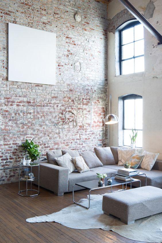 15 id es pour transformer votre appartement en un vrai loft new yorkais - Appartement style new yorkais ...