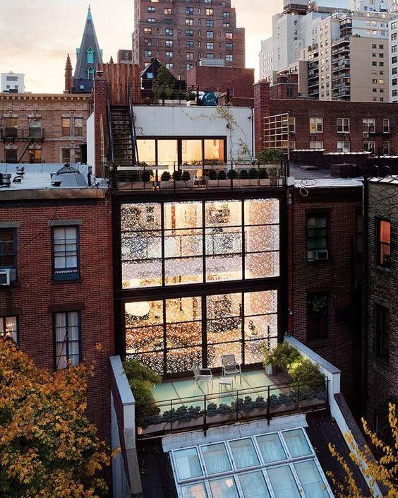 15 id es pour transformer votre appartement en un vrai loft new yorkais. Black Bedroom Furniture Sets. Home Design Ideas