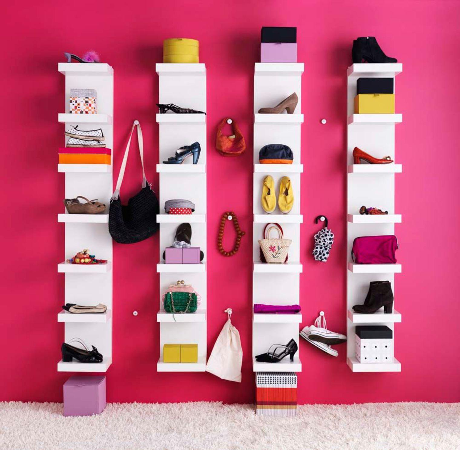 35 Id Es De Rangement Pour Les Chaussures Afin De Les Mettre En Valeur # La Place De Chaussure A La Maison