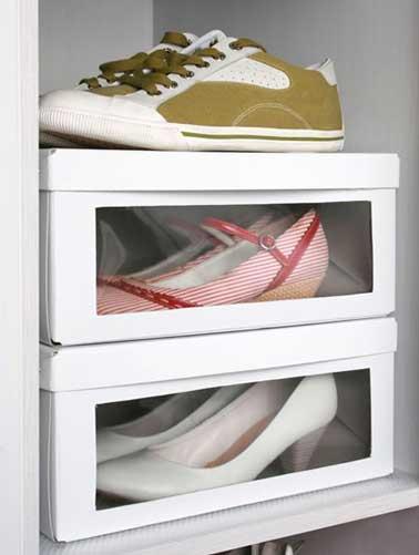 35 id es de rangement pour les chaussures afin de les mettre en valeur - Ikea etagere chaussures ...