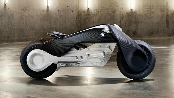 voici la nouvelle moto futuriste que l 39 on doit bmw et qui se conduira sans casque. Black Bedroom Furniture Sets. Home Design Ideas