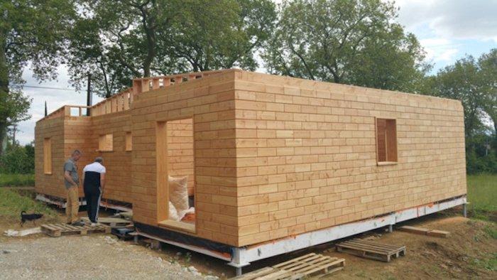 maison en bois en kit ariege