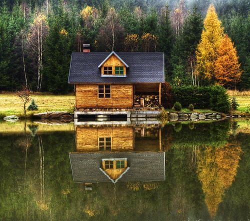 18 maisons de r ve en bord de lac qui vous donneront envie. Black Bedroom Furniture Sets. Home Design Ideas