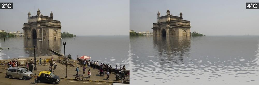 Villes et réchauffement climatique Mumbai%2C%20Inde