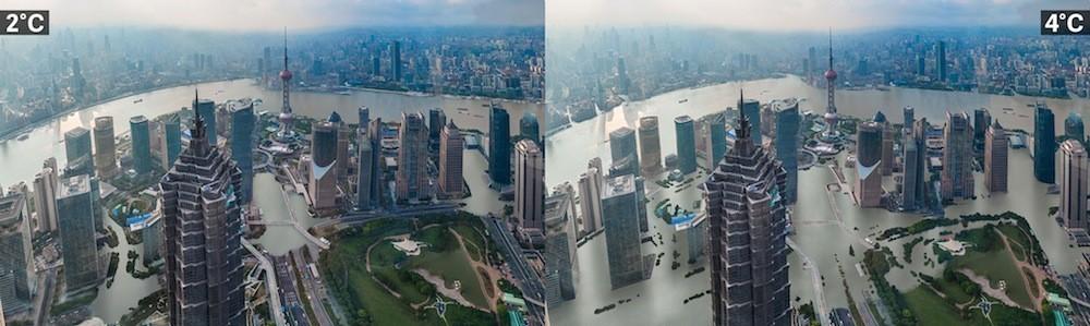 Villes et réchauffement climatique Shanghai%2C%20Chine