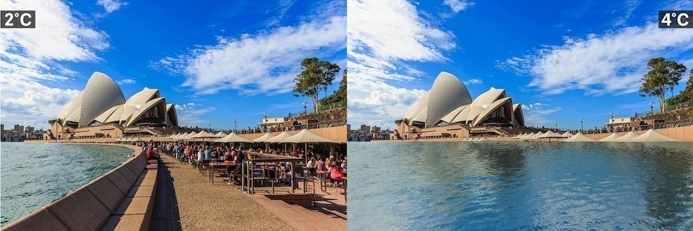 Villes et réchauffement climatique Sydney%2C%20Australie