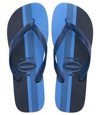 élégant et gracieux acheter bien mieux choisir Bleu & noir ou Or & blanc ? Cette paire de tongs rend fous ...